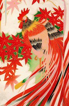 Vintage silk kimono by baikinange, via Flickr