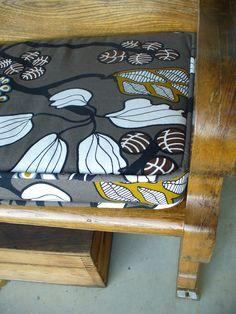 Church pew cushion.