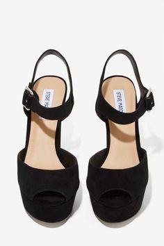 Steve Madden Jilly Platform Heel - Shoes   Heels   Open Toe   Shoes   All