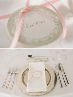 place setting ideas #wedding #dinner #reception