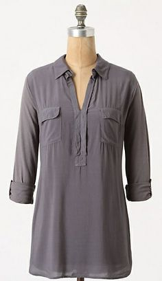 Tried & True Top (in Slate Grey) | Splendid for Anthropologie. #top #tee #shirt #blouse
