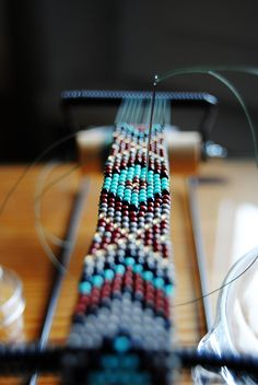 DIY NATIVE AMERICAN BELT part I & loom beading tutorial
