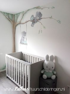 I to you wear and miffy on the swing. Nice for the kids room – Babyzimmer ID … Baby Room Furniture, Baby Boy Room Decor, Baby Room Art, Baby Room Design, Baby Bedroom, Baby Boy Rooms, Kids Bedroom, Nursery Room, Chambre Nolan
