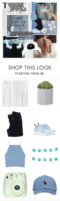 """This Could Be Us..."" by ilovemypup-1 ❤ liked on Polyvore featuring NLXL, True Religion, NIKE, Topshop, LumaBase and Fuji"
