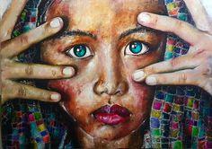 Schilderij Asian Escape door Patrick van Haren