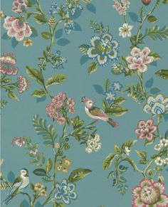 Willem Teal Painted Garden 375062 Brewster Wallpaper Wallpaper 375062 Brewster Blues Greens Pinks Teal Birds Wallpaper Floral & Plant Trail Wallpaper Floral & Plants Wallpaper Textured Wallpaper , Non Woven, Easy to clean , Easy to wash, Easy to strip How To Hang Wallpaper, Plant Wallpaper, Pip Studio, Teal Bird, Impressions Botaniques, Brewster Wallpaper, Teal Paint, Wallpaper Warehouse, Image Hd