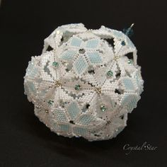 This beading pattern provides step by step instructions with very clear colour photographs to create a stunning, sparkling and beautiful dodecahedron ornament with an open lace finish.IMPORTANT NOTICE: THIS IS A BEADED ORNAMENT AND NOT A TOY!The S...