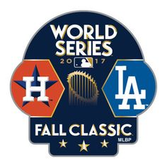 Houston Astros vs. Los Angeles Dodgers 2017 World Series Dueling Pin - MLB #Aminco