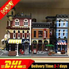 127.00$  Buy now - alis3i.shopchina.... - LEPIN 15011 Detective\'s Office +15002 Brick Bank Model Building Kits Blocks Bricks Toys For Children Gift Clone 10182 10246 127.00$ #buyininternet