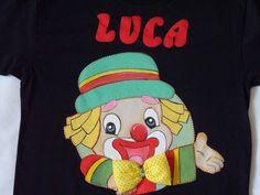 Camiseta infantil com tema Patatá.