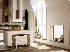 How To Make A Modern Kitchen Functional In The Attic