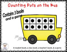 Creations by Mrs. Mouse: My Newest Creation - Counting Dots on the Bus