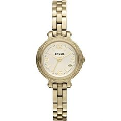 Fossil Heather Mini Stainless Steel Watch Gold-Tone Fossil. Save 6 Off!. $108.00