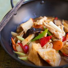 Spicy Sichuan Homestyle Tofu