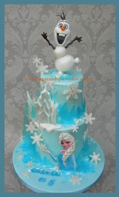 Let it Go! - Cake by Mel_SugarandSpiceCakes - CakesDecor