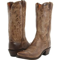Lucchese Classic Brown Cowboy Boots!