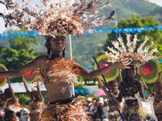 A Tribo Purok A performer at the Barotuan Ati-Atihan Festival in El Nido Palawan El Nido Palawan, Falling In Love Again, Mardi Gras, Philippines, Island, Projects, Saints, Carnival, Log Projects