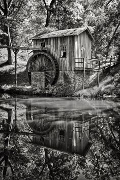 Water Wheel, Mississippi