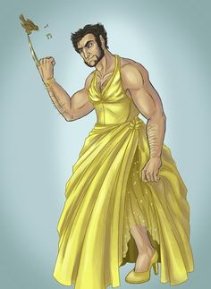 Disney Princess Wolverine