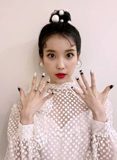 Image may contain: one or more people and closeup Iu Twitter, Rap Us, Luna Fashion, Lee Hyun, Moon Lovers, Music Guitar, Just Friends, Korean Artist, Pretty Men