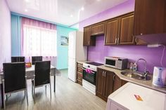 Apartment U Ilyi Petrozavodsk Set in Petrozavodsk, this apartment features a balcony. Free WiFi is featured .  The kitchen features an oven and a microwave. Towels and bed linen are offered in this apartment. There is a private bathroom with a bath.