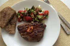 Rump steak s stiplavym bylinkovym maslom Rump Steak, Meat, Food, Essen, Yemek, Meals