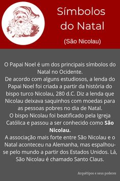 São Nicolau Ares, Christmas, Saint Nicholas, Interesting Facts, Birth Of Jesus, Writing Ideas, Panettone, Archetypes, Writing