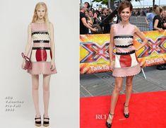 Cheryl Fernandez-Versini In RED Valentino – X Factor London Auditions