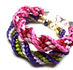 7 Tutorials For Braided Rope Jewelry