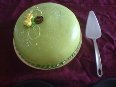 Swedish Princess Cake at Ambrosia Bakery, Ocean Ave., San Francisco