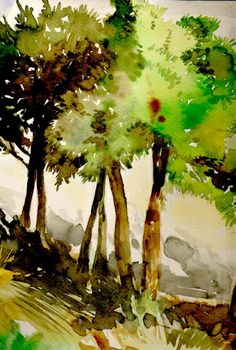 Watercolours, awesome, lighting