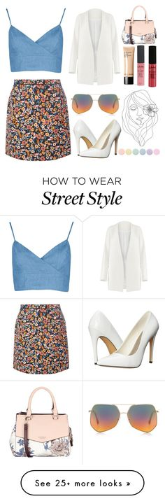 """she spoke with the flowers"" by monsterderie on Polyvore featuring Dorothy Perkins, Michael Antonio, Non, NYX, Bobbi Brown Cosmetics, PBteen, Fiorelli, Deborah Lippmann and Grey Ant"