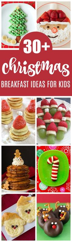 Santa Breakfast Idea