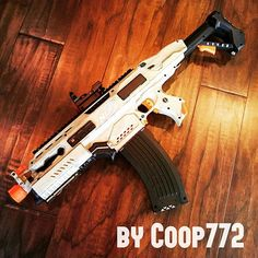Instagram media by blastaway.eu - sweeet RS mod by the one and only >>> @coop772 <<< ^^ #nerf #nerfmodding #dartblaster #nerfgun #ナーフ #cosplay #nerfnation #anime #scifi #nerfmods