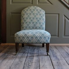 Small Occasional C19th Howard & Sons English Chair