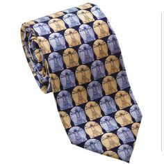 Leonardo da Vinci Necktie