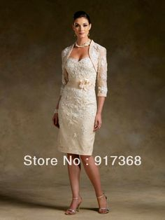 mother of the groom dresses 2014 with jacket | ... Size-Mother-of-the-Bride-and-Groom-Lace-Dresses-With-Bolero-Jacket.jpg