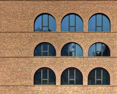 David Chipperfield, Forum Museumsinsel, Berlin, 2014. Brickwork without expansion joints.