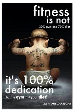 Yeah Buddy! 100% Training & DIET!  (Image: Google)