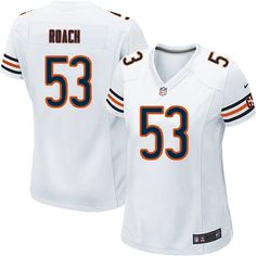 Nike Chicago Bears Nick Roach Limited Jersey Women White  53 NFL Jerseys  Sale Cowboys Dak Prescott jersey. Ayeissy Verana · New York Jets Jerseys 47a18f035