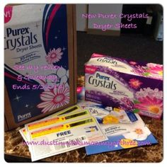 Purex Crystals Dryer Sheets Review and Blog #Giveaway #ad « DustinNikki Mommy of Three