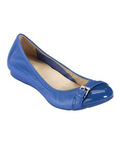 Take a look at this Empire Blue Air Reesa Ballet Flat by Cole Haan on #zulily today!