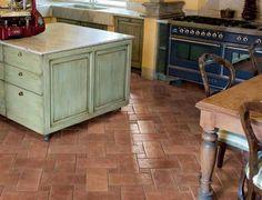 Pavimento in gres porcellanato smaltato Cotto Reale - rosso, Gardenia Orchidea | CucinaIdea.com