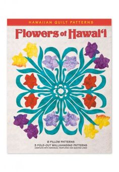 Need to get this book to design quilt pattern.  Hawaiian Quilting Book