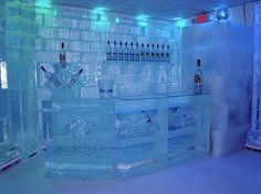 Love this place....Absolut Ice bar in Sweden!  it is a little cold...but you dont need ice in your drink....the glass is the ice!
