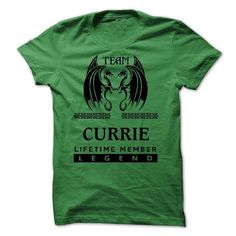 25122403 Team CURRIE Lifetime Member Legend - #tee aufbewahrung #matching hoodie. OBTAIN LOWEST PRICE => https://www.sunfrog.com/Names/25122403-Team-CURRIE-Lifetime-Member-Legend.html?68278