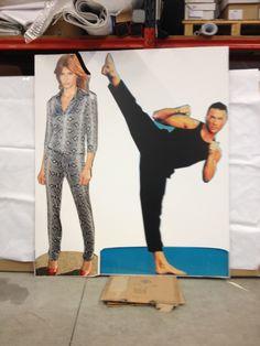 Axelle Red & Jean-Claude van Damme Van Damme, Red Jeans, Your Image, Capri Pants, Fashion, Moda, Capri Trousers, Fashion Styles, Fashion Illustrations