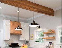Small Modern Kitchens, Modern Kitchen Design, Kitchen Designs, Interior Design Kitchen, Modern Interior, Kitchen Ideas, Smart Storage, Kitchen Styling, Hgtv