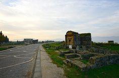 Ancient city of #Hierapolis near #Pamukkale Turkey