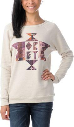 http://www.zumiez.com/obey-girls-jealous-again-charcoal-grey-zip-up-hoodie.html